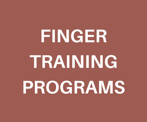 finger training program