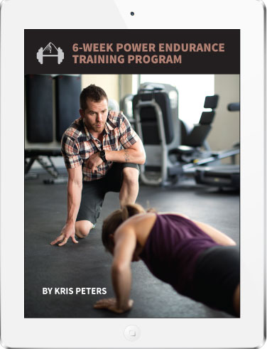 kris peters power endurance cover