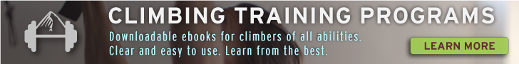 rock climbing training programs