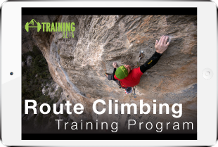 Product image for route climbing training program