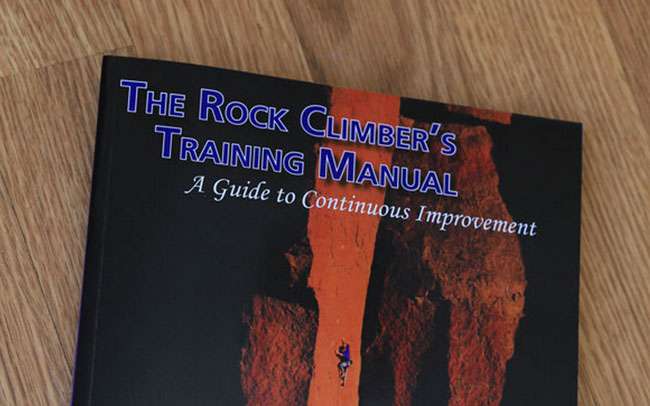 New book on training for climbing and bouldering train hard but.