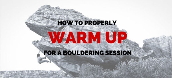warm up for bouldering