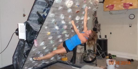 Bill Ramsey Treadwall Training Training For Rock Climbing