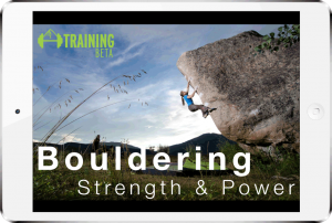 Bouldering strength and power program