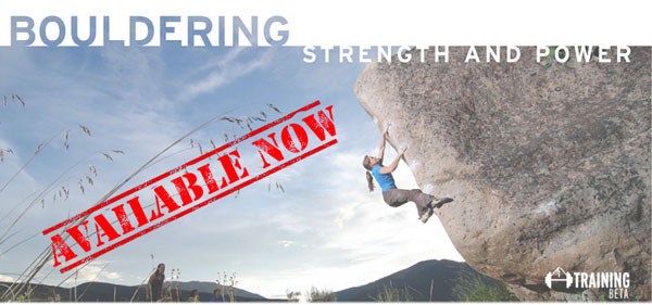 bouldering strength and power program available