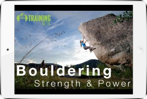Product image for bouldering strength and power program