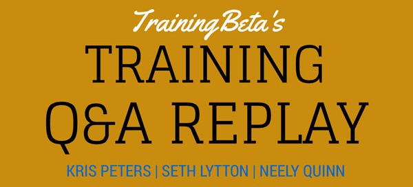 Training Q&A Banner