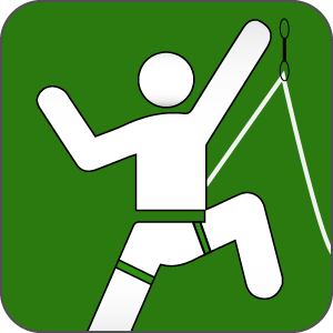 projecting icon for route climbing program