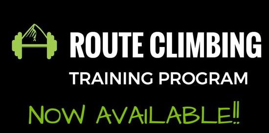route climbing training program