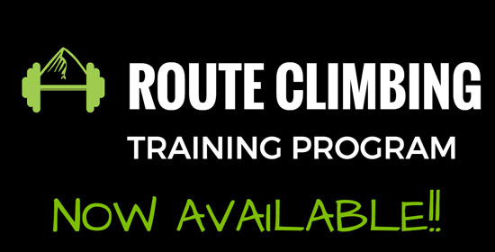 route climbing training program