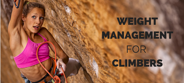 weight management for climbers