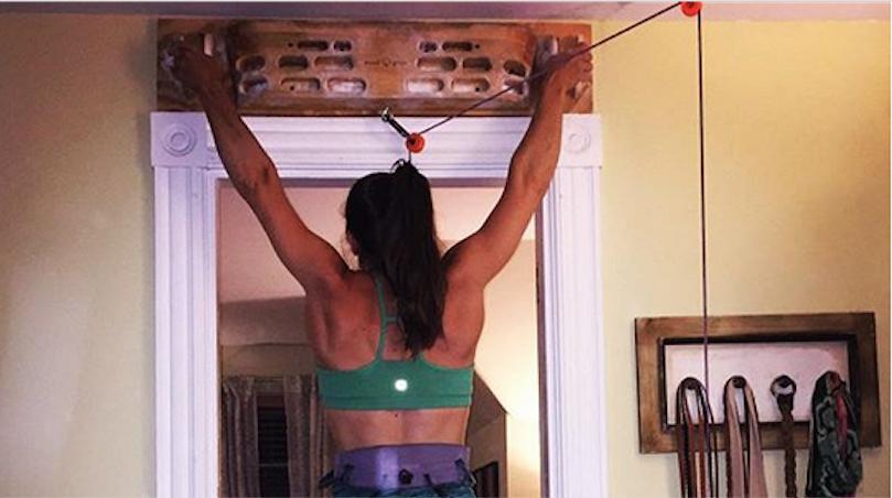 Crux Crush Hangboard Workout Training For Rock Climbing Trainingbeta
