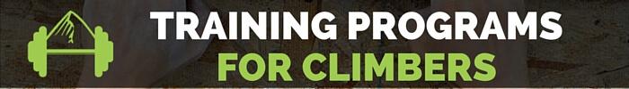 climbing training programs