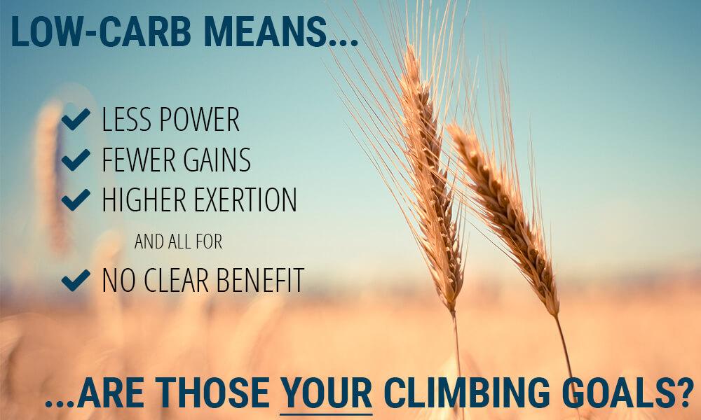 low carb climbing