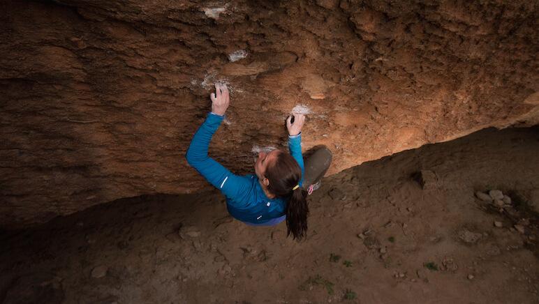 Climber: Marieta Akalski; Photo Credit: Edwin Teran