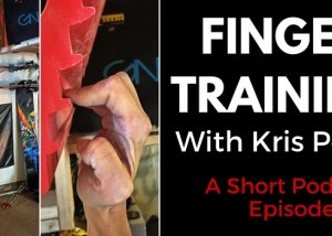 finger strength training climbing