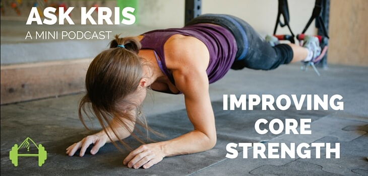 core strength for climbing