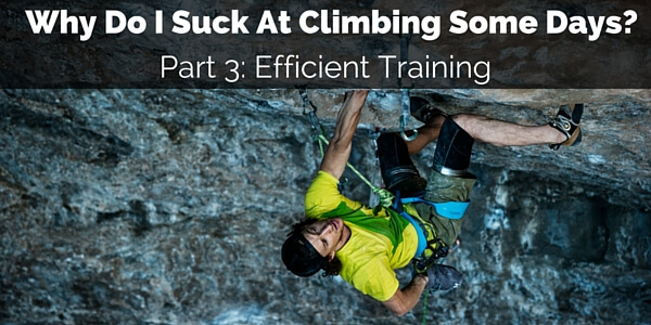 climbing training efficiency