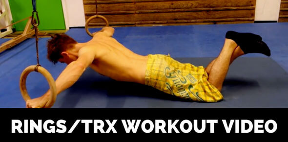 rings trx workout video