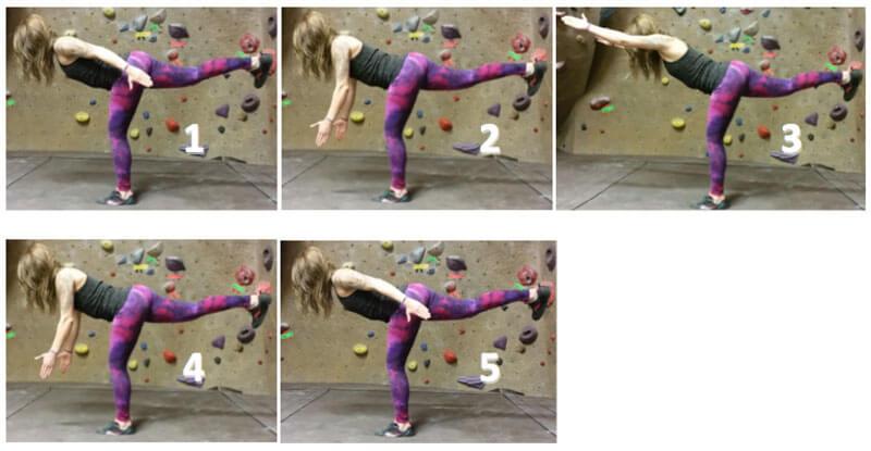 sequence 4 yoga for climbing