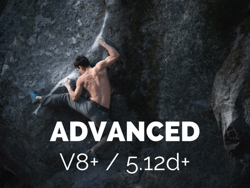 advanced finger training climbing