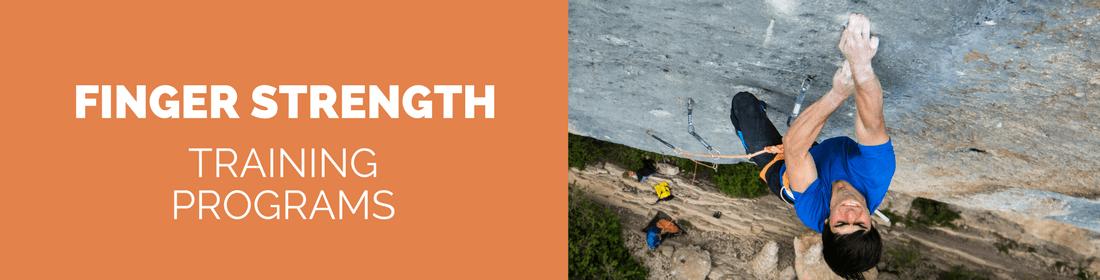 finger strength climbing