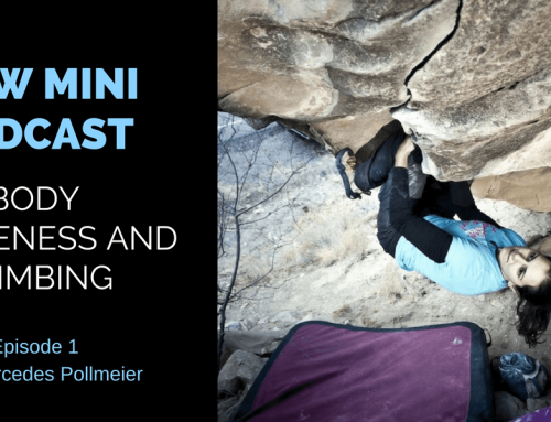 New Mini Podcast Series with Mercedes Pollmeier: Using Body Awareness in Climbing and Beyond