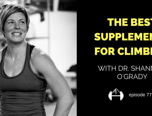 TBP 077 :: The Best Supplements for Climbers with Shannon O'Grady