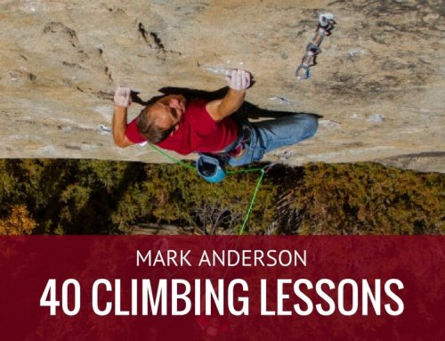 Mark Anderson – 40 Climbing Lessons