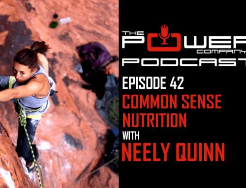 Neely Quinn on The Power Company Podcast: Common Sense Nutrition