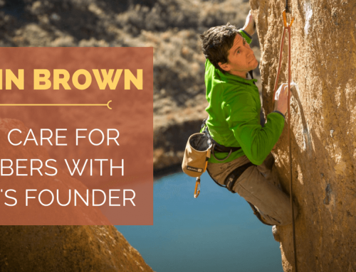 TBP 081 :: Skin Care for Climbers with Justin Brown of Rhino Skin Solutions