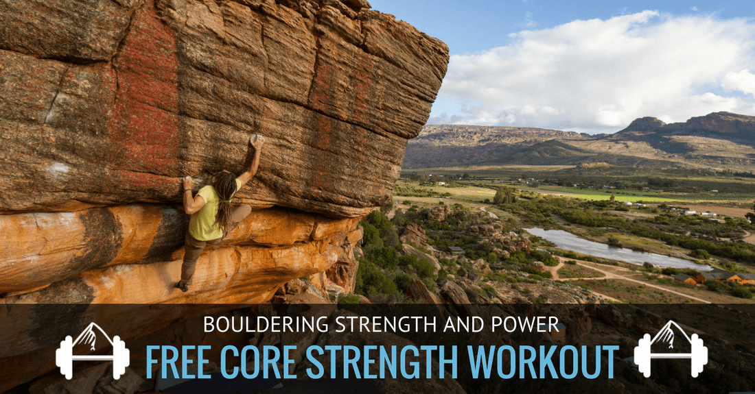 bouldering core strength workout