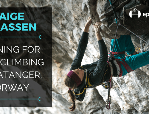 TBP 086 :: Paige Claassen: How A Technical Climber Trained for Roof Climbing in Flatanger, Norway