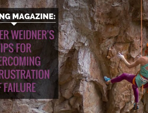 Climbing Magazine – 4 Tips for Overcoming the Frustration of Failure