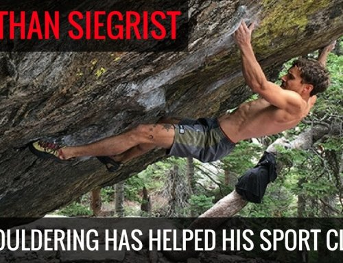 Jonathan Siegrist – How Bouldering Has Helped his Sport Climbing
