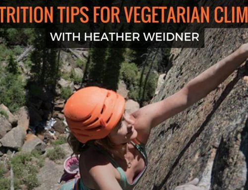 Climbing Magazine: 5 Nutrition Tips for Vegetarian Climbers