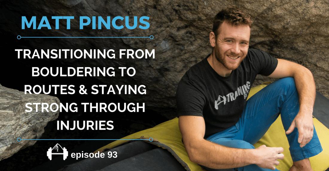 MATT PINCUS Online climbing training