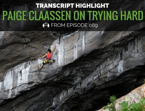 Transcript Highlight: Paige Claassen on Learning to Try Hard