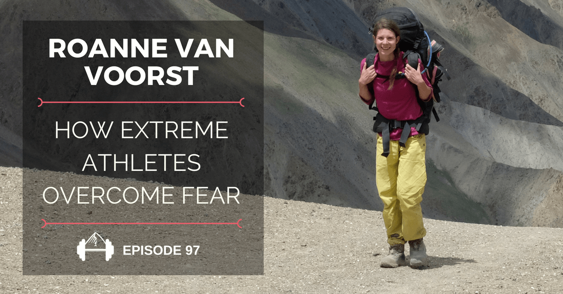 roanne van voorst on fear in climbing