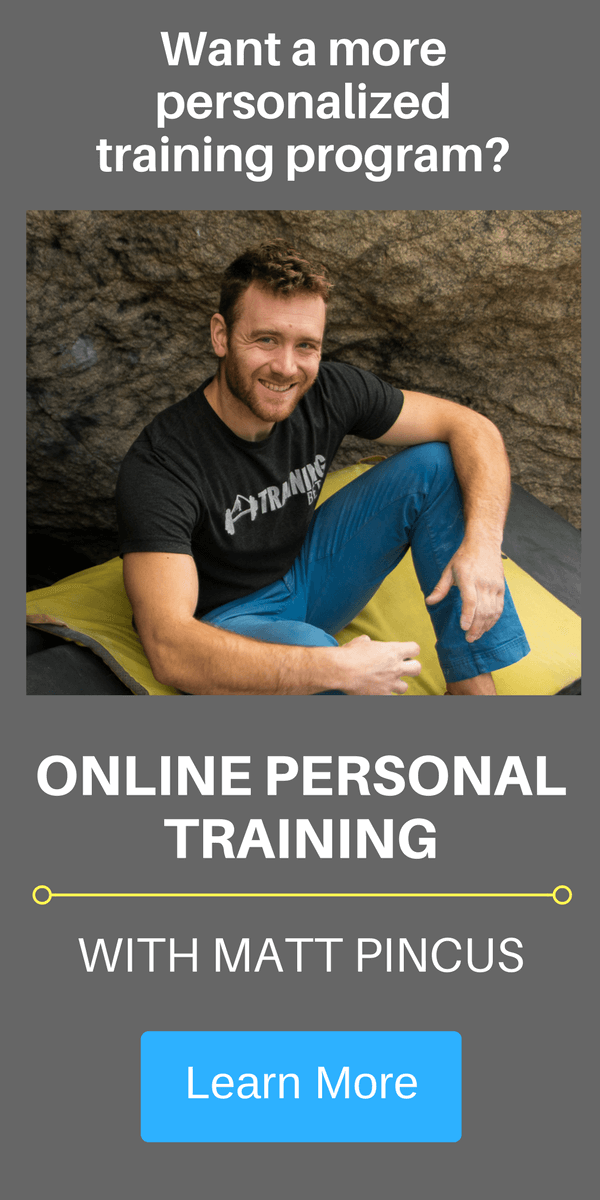 ONLINE PERSONAL TRAINING climbing