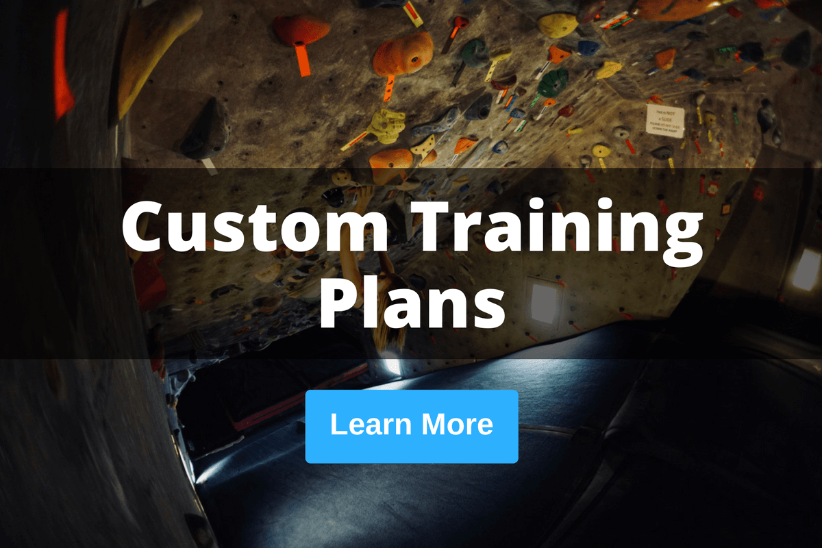 custom climbing training plans