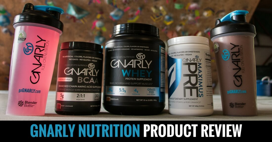 Gnarly Nutrition Product Review Training For Rock Climbing