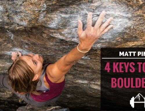 Matt Pincus: 4 Keys to Limit Bouldering