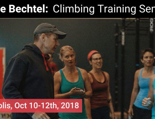 Performance Climbing Coach Seminar with Steve Bechtel, Neely Quinn, etc