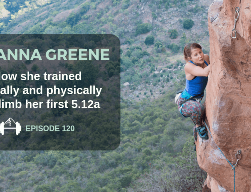 TBP 120: How Brianna Greene Trained to Send Her First 5.12a
