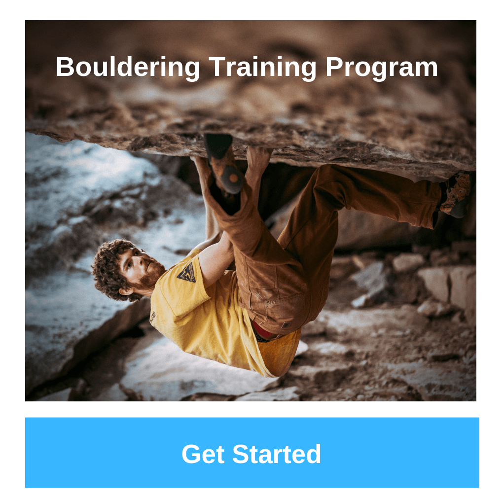 bouldering training program