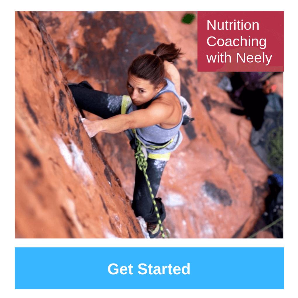 nutrition coaching climbing
