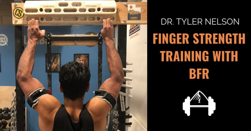 Dr  Tyler Nelson: Finger Training with Blood Flow Restriction
