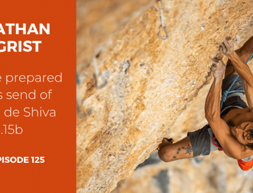 TBP 125 :: Jonathan Siegrist's Preparation and Process for Planta de Shiva 5.15b