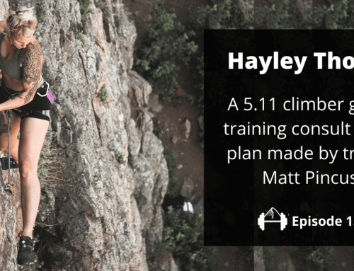TBP 136: 5.11 Climber Hayley Thomas Is Coached by Matt Pincus